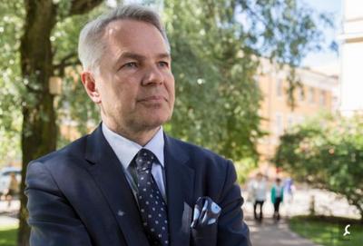 «پکا هاویستو» وزیر خارجه فنلاند