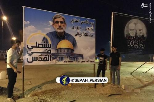 سردار قاآنی، رزمنده و جهادگر جبهه مقاومت